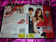 SHE'S THE MAN (DVD, PG) (122896)A