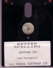 Better Spelling (School Software Ltd) Amstrad Disk / CPC Disc  - More In Store!