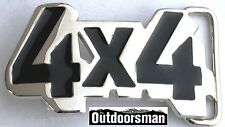 4X4 (FOUR BY FOUR) LOGO BELT BUCKLE FORD CHEVY GMC JEEP DODGE US seller