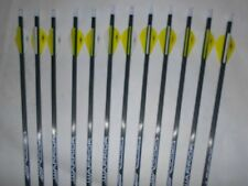 12-Warrior 600 by Gold Tip Youth Carbon Arrows Vanetec HP Vanes CUT TO LENGTH!