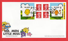 2016 MR MEN and LITTLE MISS BOOKLET FDC FIRST DAY COVER - Cleckheaton Handstamp