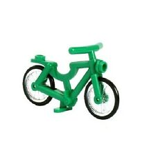 LEGO Green Bicycle for Minifigs RARE Colour NEW