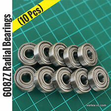 608ZZ Radial Bearings (10Pcs) - 3D printers, DIY projects.