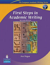 First Steps in Academic Writing: Student Book Level 2 (Longman Academic Writing