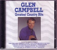 GLEN CAMPBELL Greatest Country Hits Oop CD 70s Rhinestone Cowboy Southern Nights