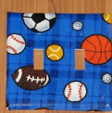 SPORTS Switchplate Double Switch plate light Cover #1