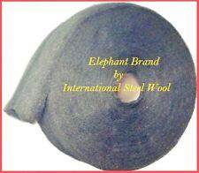 10 lb Case Steel Wool Rolls, Grade #00 FINE