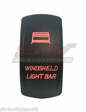 POLARIS RANGER RZR XP 1000 BACKLIT RED ROCKER SWITCH WINSHIELD LIGHT BAR UTV