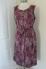 size 10 pink sleeveless dress from white stuff brand new