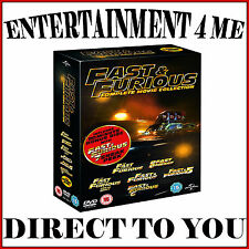 FAST AND FURIOUS - COMPLETE MOVIE COLLECTION 1 - 6  **BRAND NEW DVD BOXSET***