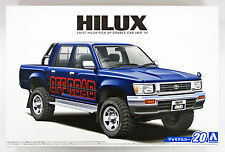 Aoshima 52280 The Model Car 20 Toyota LN107 Hilux PickUp Double Cab4 WD '94 1/24