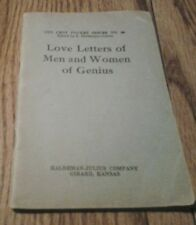 TEN CENT POCKET SERIES NO. 89 LOVE LETTERS OF MEN AND WOMAN OF GENIUS
