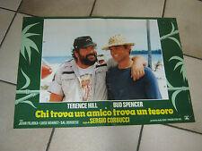 FOTOBUSTA,CHI TROVA UN AMICO TROVA UN TESORO BUD SPENCER T.HILL CORBUCCI