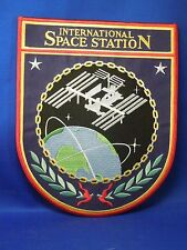 International Space Station ISS NASA Large Embroidered Iron On Jacket Patch