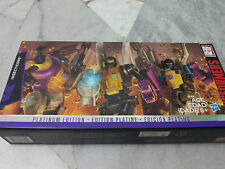 Transformers Platinum Edition Insecticons Generation 1 Reissue Hasbro MISB