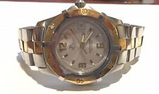 Tag Heuer Mens 18k Yellow Gold & Stainless Steel 2000 Exclusive Watch WN1153