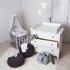 Fasciatoio adatto a tutte le cassettiere IKEA Hemnes (bianco)