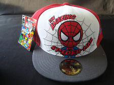Tokidoki Marvel New Era 59FIFTY Hat 8 White Red Spider-Man NWT