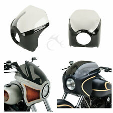 ABS Plastic Narrow Wide Glide/Custom Mid Glide Fairing Kit For Harley Motorcycle