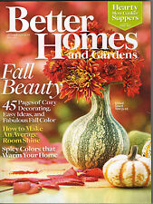 Better Homes & Gardens 2008 Halloween Decorating Pumpkins Gourds Cupcakes Bulbs