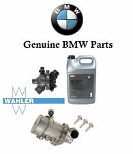 Genuine BMW Electric Engine Water Pump OEM Thermostat 3-Bolt kit &Antifreeze BMW
