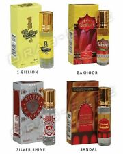 AQDAS 8ML ATTAR/CONCENTRATED PERFUME_4 IN A PACK_DISCOUNT SALE_GOOD QUALITY OIL