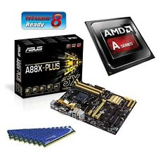 AMD A10 7850K RADEON R7 APU ASUS A88X MOTHERBOARD 8GB DDR3 MEMORY RAM COMBO KIT