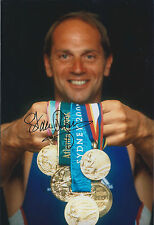 Steve REDGRAVE 12x8 Signed Photo Autograph AFTAL COA Olympic Gold Medal MULTIPLE