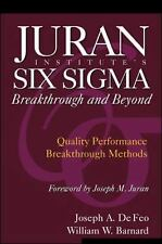 Juran Institute's Six Sigma Breakthrough and Beyond: Quality Performan-ExLibrary