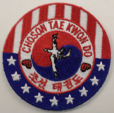 Martial Arts Embroidered Sew On Uniform Patch Choson Tae Kwon Do