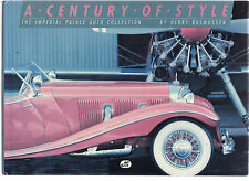 A CENTURY OF STYLE : THE IMPERIAL PALACE AUTO COLLECTION - RASMUSSEN cars   et
