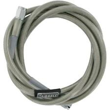 "Harley Touring BRAIDED Brake Line Hose  Steel Reinforced RUSSELL R58322S 66"" M2"