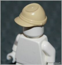 Lego Indiana Jones x1 Tan Cavalry Cap Kepi German Soldier 7622 Minifigure NEW