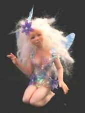 7 In. Fairy Maiden Push Mold 4 Polymer Clay Press Mold for OOAK doll making