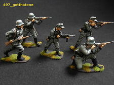 airfix 1/32 painted German infantry. collectors standard.