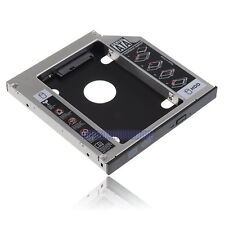 "2.5"" SATA HDD Hard Drive Disk Caddy Tray Bracket For 12.7mm Universal CD DVD-ROM"