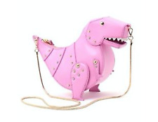 Kate spade new york Whimsies T. Rex Leather Crossbody Teatime Pink