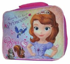 Lunch Bag Insulated Disney Sofia the First Ready To Be A Princess Pink New