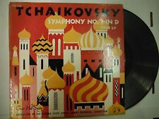 33 RPM Vinyl Tchaikovsky Symphony No. 3 in D Concert Hall Society 1139 121514KME