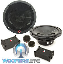 "ROCKFORD FOSGATE P165-SE 6.5"" PUNCH COMPONENT SPEAKERS CROSSOVERS TWEETERS NEW"