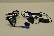 Official Sony Playstation 4 PS4 Headset Earbud Microphone Earpiece Lot of 2