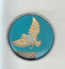 RARE PINS PIN'S ..  ANIMAL AVION AIRLINES PIGEON COLOMBE OISEAU BIRD ENVOL ~A7