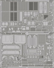 EDUARD 1/35 PE DETAIL SET for TRUMPETER CHALLENGER 2 ENHANCED ARMOUR #01522