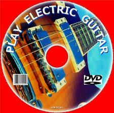 LEARN HOW TO PLAY ELECTRIC GUITAR  DVD GUIDE SIMPLE + EASY TO FOLLOW LESSONS NEW