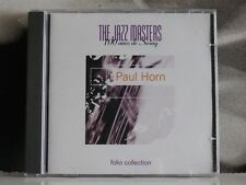 PAUL HORN - FOLIO COLLECTION - SERIE JAZZ MASTERS CD NEAR MINT 1996