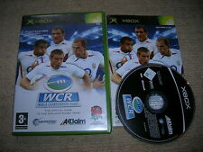 WORLD CHAMPIONSHIP RUGBY – Rare Boxed XBOX Game