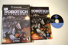 Robotech Battlecry GameCube Video Game Complete