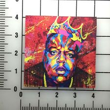 "Notorious BIG Biggie 4"" Wide VInyl Decal Sticker - BOGO"