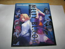 Melty Blood Act Cadenza PS2 Official Master Guide Book Art Japan import