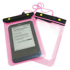 Pink Amazon Kindle Holiday Waterproof Case Cover Protective Bag Pouch Dry Bag 3
